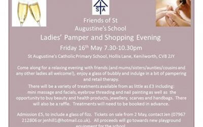 St. Augustine's School Ladies' Pamper and Shopping Evening