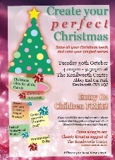 Kenilworth Centre event 'Create your perfect Christmas' 30 October 2012